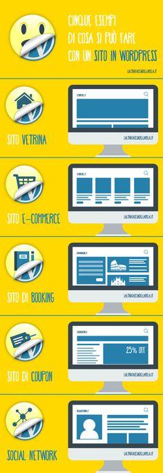 Chi l'ha detto che con #Wordpress non si può fare tutto? Ecco qualche esempio, solo per avere un'idea!