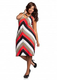 1de37732521 Ashley Stewart  Striped Linen Dress Luv this store