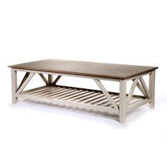 Couchtisch Holz grau ca L:140 x T:70 x H:42 cm