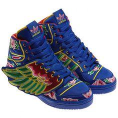premium selection 1acba 3f1f9 EASON CHAN × ADIDAS ORIGINALS BY JEREMY SCOTT 2013 JS WINGS COBALT WHITE   sneaker