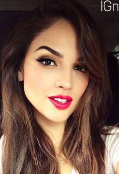 Eiza makeup 2014