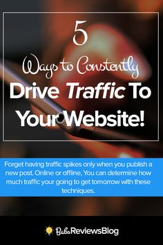 Would you like to learn how to do this to your website or blog consistently…