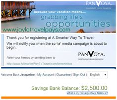 I Love Social Media, getting paid to do what I love and free money.  www.jaylatravelpays.com  Started another income stream last night for $16.17  Panvoya pays you to give away savings credit. I took advantage of $2500 in savings given. Became an affiliate for $15.00 and bought a GoDaddy domain for $1.17.   Enter to win a $5,000 Vacation Giveaway in Dominican Republic. When you enter I get one too. #winwin  #wah #mlm #travelforfree #saveontravel #jaylatravelpays…