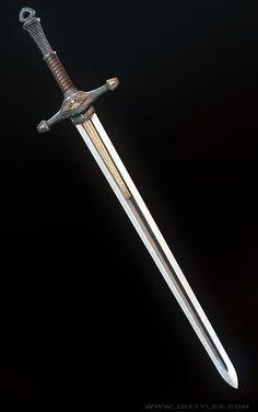 ArtStation – Medieval Long Sword, JD Styles – Willkommen bei Pin World Medieval Weapons, Sci Fi Weapons, Weapon Concept Art, Weapons Guns, Fantasy Sword, Fantasy Armor, Fantasy Weapons, Medieval Fantasy, Celtic Sword