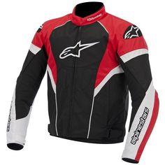 08ff6cf30403a Jaqueta Moto Alpinestars T-GP Plus R - Preta com Vermelho - Masada Moto