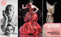 Lee Alexander McQueen was a British fashion designer and couturier, known for having worked as chief designer at #Givenchy from 1996 to 2001 and for founding his own #AlexanderMcQueen label. Winner of four British Designer of the Year awards (1996, 1997, 2001 and 2003), this talent is a life lost too early. #McQueen #Reviewwalla