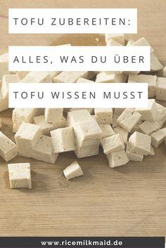 """Finde hier den absoluten Tofu-Guide """"Tofu zubereiten"""". Lerne die verschiedenen…"""