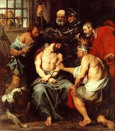 The Derision of Christ by Anthony Van Dyck — The Way of Beauty The Way of Beauty