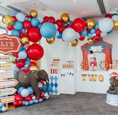 20 best birthday party ideas for boys - boy birthday party themes Circus Carnival Party, Circus Theme Party, Carnival Birthday Parties, First Birthday Parties, Circus Wedding, Vintage Circus Party, Boys Birthday Party Themes, Dumbo Birthday Party, Turtle Birthday