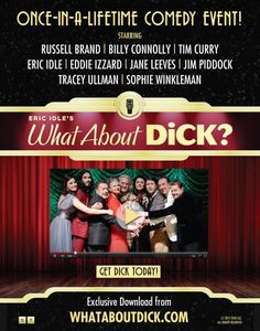 Billy Connolly in Eric Idle's New Comedy Thing. Sophie Winkleman, Jane Leeves, Tracey Ullman, Eric Idle, Billy Connolly, Comedy Events, Eddie Izzard, Tim Curry, Russell Brand
