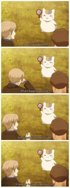Natsume Yuujinchou #NatsumeTakashi #Nyanko #funny
