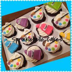 Artist Cupcakes Painter