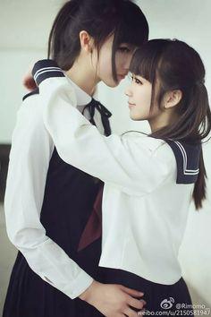 Lesbian japanese school girls