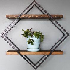 diamond wall.shelves