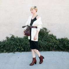 Style Your Slip Dress For Fall |