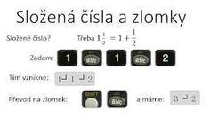 Jak na kalkulačce pracovat se zlomky Mathematics
