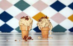 Coconut, Vanilla Bean & Honey Ice Cream, Renee Naturally