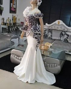 🍽 Ankara dress on flick African Traditional Dresses, Traditional Wedding Dresses, Traditional Outfits, African Wedding Attire, African Attire, African Outfits, Latest African Fashion Dresses, African Dresses For Women, Pretty Quinceanera Dresses
