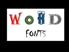 como descargar tipos de letra (fuentes) para Word y Powerpoint
