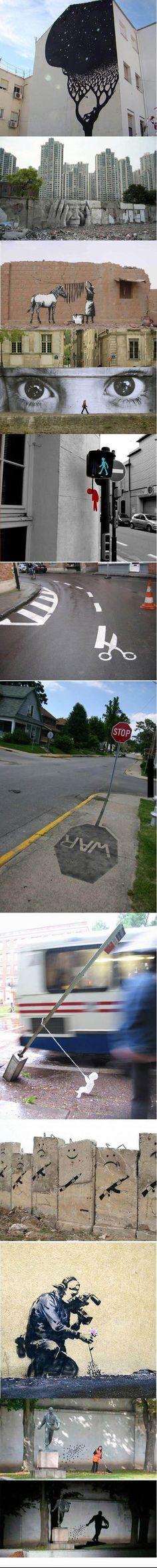Some street arts « Odditiesity