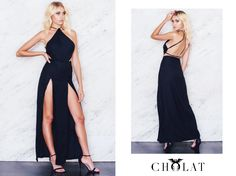 Romb Dress <3 https://cholatparis.com/products/romb-dress-black