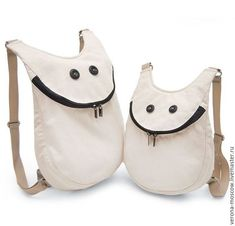 99478995 Buy Backpack Smiley Milk - New Year, 8 .- Buy Backpack Smiley Milk – New Year, 8 …- Buy Backpack Smiley Milk – New Year, March Buy Backpack, White Backpack, Diy Sac, Denim Bag, Fabric Bags, Cloth Bags, Handmade Bags, Bag Making, Leather Bag