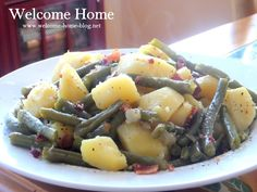 """She called them a """"big ol' mess a' beans.""""  My Mom would get up in the morning and go out ..."""