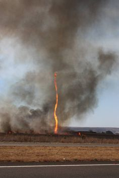 The Fire Whirl – Nature's Fiery Funnel ~ Kuriositas