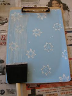 How to Make Decorative Clipboards in Back to School, Crafts, Educational Freebies, Teacher Discounts, Thrifty Gifts