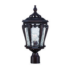 Acclaim Lighting Stratford Architectural Bronze One Light Outdoor Post Mount With Clear Hammered Water Glass Outdoor Post Lights, Outdoor Lighting, Outdoor Lantern, Lighting Ideas, Traditional Post Lights, Lamp Post Lights, Lantern Post, Thing 1, Outdoor Light Fixtures