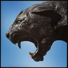 Carolina Panthers statuary