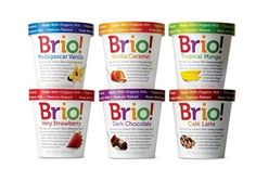 "Vermont-company Brio says it has developed a product that can satiate a sweet tooth and fulfill cravings for a cold treat in a guilt-free manner with its nutrient-dense ""meal replacement"" ice cream. —Avi Menayang, Food Navigator-usa.com"