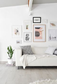 Photography : Agata Dimmich / Passion shake Read More on SMP: http://www.stylemepretty.com/living/2016/06/24/7-must-know-rules-for-creating-the-perfect-gallery-wall/