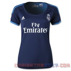 Camiseta mujer Real Madrid 2015 2016 tercera cad546cd9cb08