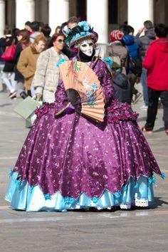 Italia, Carnevale di Venezia, piazza San Marco • Italy, Carnival of Venice, St. Mark's Square