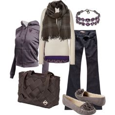 pretty purple, created by htotheb.polyvore.com