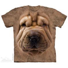 Shar Pei  Sizes Small-5XLarge. $22.00-32.00 #SharPei https://divinedogsonline.com/product/shar-pei-t-shirt/