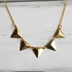 Another Sort of Bunting Necklace