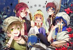 Tags: Anime, Acelolo, Free!, Ryugazaki Rei, Hazuki Nagisa, Nanase Haruka (Free!), Tachibana Makoto