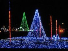Smokies Stadium Lights Up With Christmas Spirit:  Come experience the magic of Christmas in the Smokies at Shadrack's Christmas Wonderland event in Sevierville. Showcasing millions of twinkling lights, guests to this holiday-themed auto tour are sure to be thrilled at this special attraction.  - Click the pin to read more!