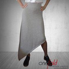 Fusta 'happy autumn' « Haine Handmade V Collection, Happy Autumn, Knitwear, Midi Skirt, How To Wear, Handmade, Sewing, Fashion, Skirts
