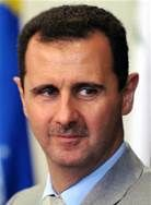 Is it just me, or does Bashar al-Assad look like a bug?  Specifically, MANSQUITO!