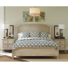Signature Design by Ashley Demarlos Upholstered Headboard