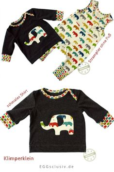 Baby Set, Baby Elefant, Baby Pullover, Sweatshirts, Sweaters, Fashion, Baby One Pieces, Project Ideas, Toddlers