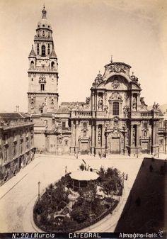 MURCIA ALMAGRO. 20 CATEDRAL (Fotografía Antigua - Albúmina)