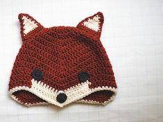 Libre del patrón de ganchillo Fox Sombrero
