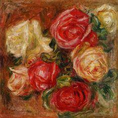 Pierre-Auguste Renoir Bouquet of Roses