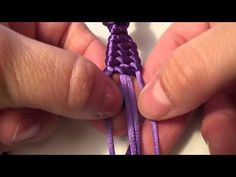 Paracord Knot, Nudo Paracord - YouTube