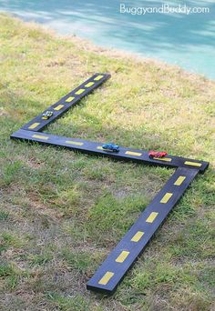 DIY Wooden Roads and Ramps for Toy Cars