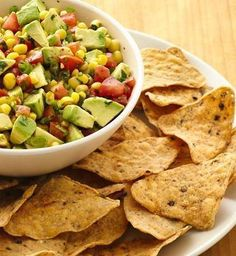 Can't decide between salsa and guac? You can have a little bit of both in this fun, fresh hybrid. Use canned or frozen corn to make prep even easier. Tip: Check out the avocado selection at the grocery store a couple days in advance. You may need to ripen your avo at home a bit before cutting into it.